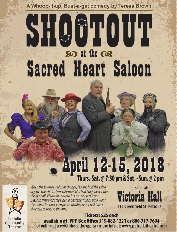 Shoot Out at The Sacred Heart Saloon